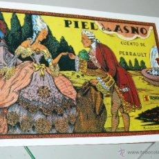 Tebeos: TEBEOS-COMICS CANDY - CUENTOS SELECTOS - CLIPER - 1942 - PIEL DE ASNO *CC99. Lote 43149327