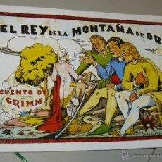 TEBEOS-COMICS CANDY - CUENTOS SELECTOS - CLIPER - 1942 - EL REY DE LA MONTAÑA DE ORO *CC99