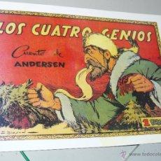 TEBEOS-COMICS CANDY - CUENTOS SELECTOS - CLIPER - 1942 - LOS CUATRO GENIOS *CC99