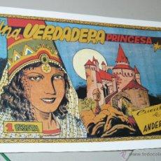 Tebeos: TEBEOS-COMICS CANDY - CUENTOS SELECTOS - CLIPER - 1942 - UNA VERDADERA PRINCESA *CC99. Lote 43149538