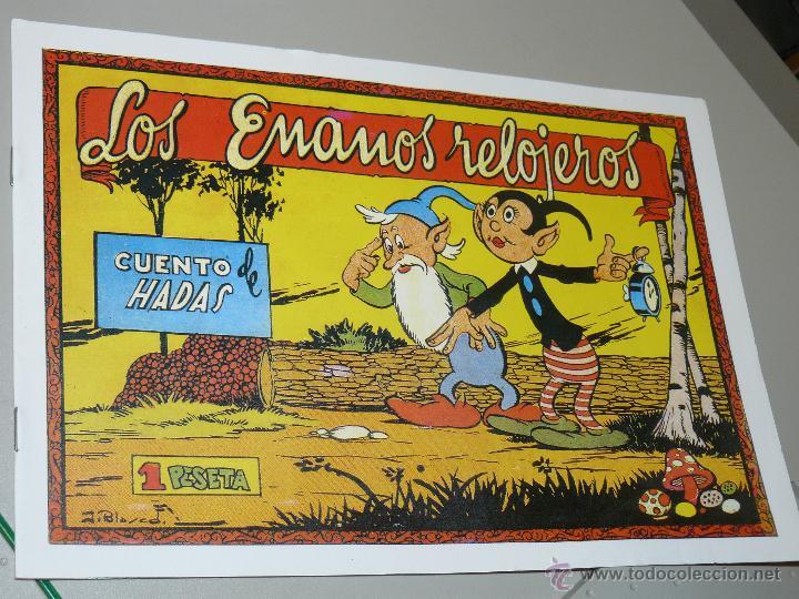 TEBEOS-COMICS CANDY - CUENTOS SELECTOS - CLIPER - 1942 - LOS ENANOS RELOJEROS *CC99 (Tebeos y Comics - Cliper - Otros)