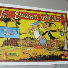 Tebeos: TEBEOS-COMICS CANDY - CUENTOS SELECTOS - CLIPER - 1942 - LOS ENANOS RELOJEROS *CC99. Lote 43149570