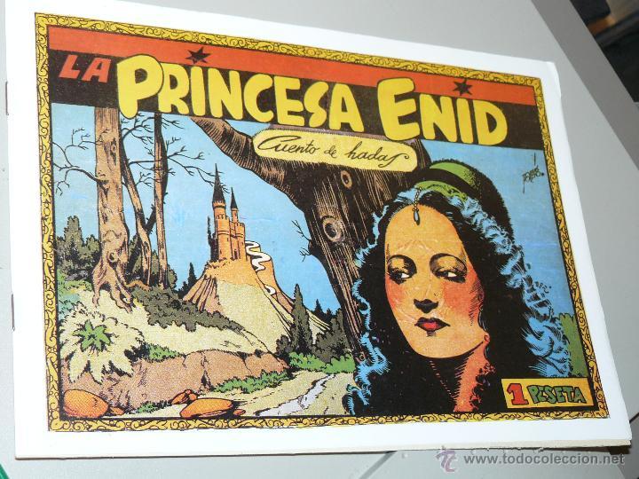 TEBEOS-COMICS CANDY - CUENTOS SELECTOS - CLIPER - 1942 - LA PRINCESA ENID *CC99 (Tebeos y Comics - Cliper - Otros)