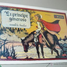 Tebeos: TEBEOS-COMICS CANDY - CUENTOS SELECTOS - CLIPER - 1942 - EL PRINCIPE GENEROSO *CC99. Lote 43149584