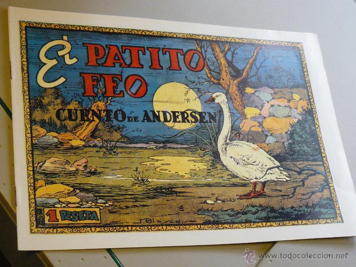 TEBEOS-COMICS CANDY - CUENTOS SELECTOS - CLIPER - 1942 - EL PATITO FEO *CC99 (Tebeos y Comics - Cliper - Otros)