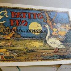 Tebeos: TEBEOS-COMICS CANDY - CUENTOS SELECTOS - CLIPER - 1942 - EL PATITO FEO *CC99. Lote 43149690