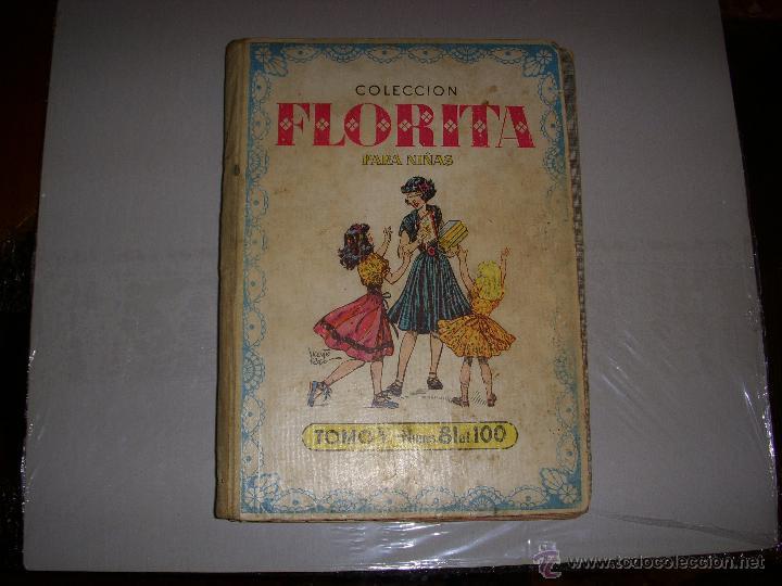 COLECCIÓN FLORITA TOMO V Nº 81 AL 100, EDITORIAL CLIPER (Tebeos y Comics - Cliper - Florita)