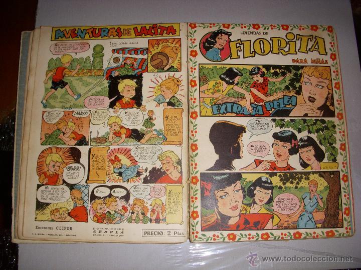 Tebeos: COLECCIÓN FLORITA TOMO V Nº 81 AL 100, EDITORIAL CLIPER - Foto 2 - 97776900