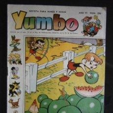 Tebeos: YUMBO Nº 296 EDICIONES CLIPER. Lote 43571818
