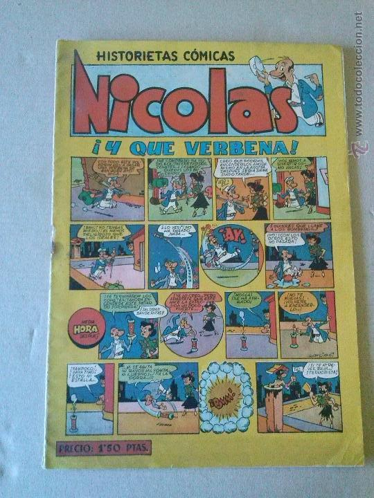 NICOLAS Nº 14 - CLIPER- GERPLA (Tebeos y Comics - Cliper - Nicolas)