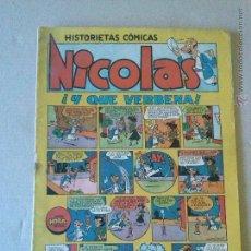 Tebeos: NICOLAS Nº 14 - CLIPER- GERPLA. Lote 44181885