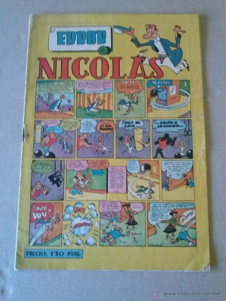 NICOLAS Nº 27 , - CLIPER- GERPLA (Tebeos y Comics - Cliper - Nicolas)