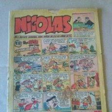 Tebeos: NICOLAS Nº 113 - CLIPER -GERPLA. Lote 44181914