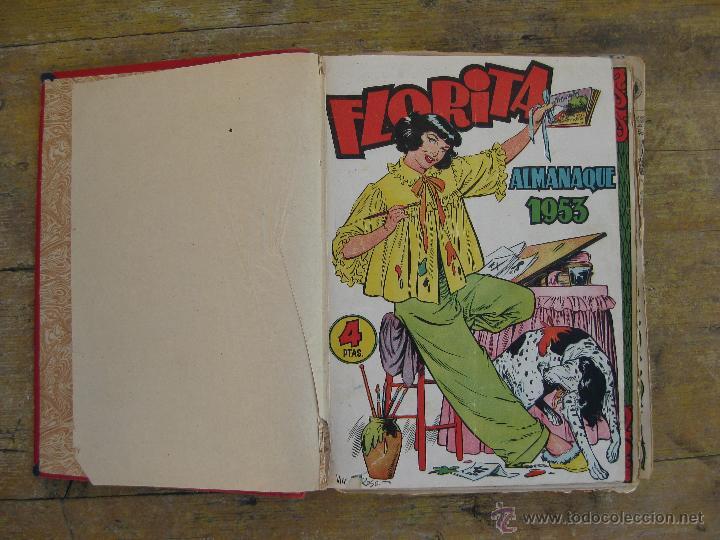 LOTE FLORITA TEBEOS COMICS ALMANAQUE 1953 Y DEL 151 AL 180 (Tebeos y Comics - Cliper - Florita)