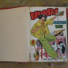Tebeos: LOTE FLORITA TEBEOS COMICS ALMANAQUE 1953 Y DEL 151 AL 180 . Lote 44914571