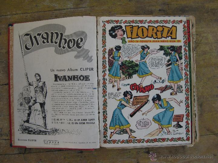 Tebeos: LOTE FLORITA TEBEOS COMICS ALMANAQUE 1953 Y DEL 151 AL 180 - Foto 2 - 44914571