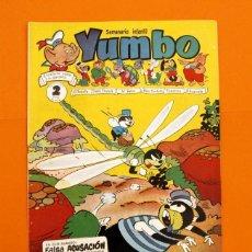 Tebeos: YUMBO Nº 83 - SEMANARIO INFANTIL - GERPLA -. Lote 45202385