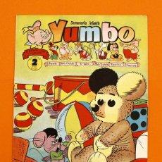 Tebeos: YUMBO Nº 95 - SEMANARIO INFANTIL - GERPLA -. Lote 45202492