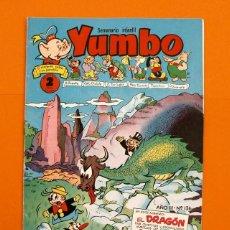 Tebeos: YUMBO Nº 136 - SEMANARIO INFANTIL - GERPLA -. Lote 45203008