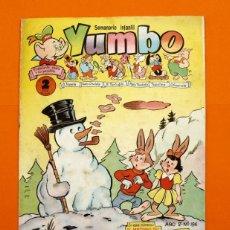 Tebeos: YUMBO Nº 194 - SEMANARIO INFANTIL - GERPLA -. Lote 45203228