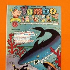 Tebeos: YUMBO Nº 221 - SEMANARIO INFANTIL - GERPLA -. Lote 45203317