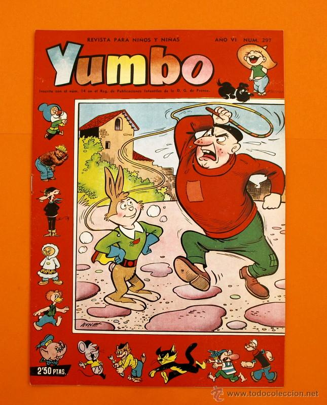 YUMBO Nº 297 - SEMANARIO INFANTIL - GERPLA - (Tebeos y Comics - Cliper - Yumbo)