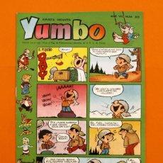 Tebeos: YUMBO Nº 305 - SEMANARIO INFANTIL - GERPLA -. Lote 45203820
