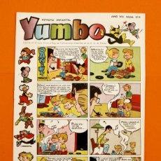 Tebeos: YUMBO Nº 314 - SEMANARIO INFANTIL - GERPLA -. Lote 45203952