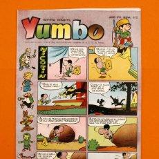 Tebeos: YUMBO Nº 315 - SEMANARIO INFANTIL - GERPLA -. Lote 45204000