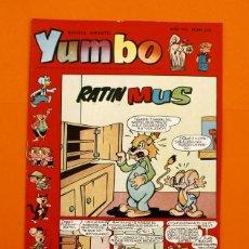 Tebeos: YUMBO Nº 324 - SEMANARIO INFANTIL - GERPLA -. Lote 45204108