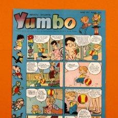 Tebeos: YUMBO Nº 325 - SEMANARIO INFANTIL - GERPLA -. Lote 45204142
