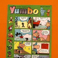 Tebeos: YUMBO Nº 334 - SEMANARIO INFANTIL - GERPLA -. Lote 45204253