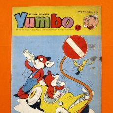 Tebeos: YUMBO Nº 341 - SEMANARIO INFANTIL -. Lote 96490924