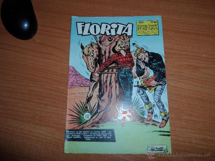 FLORITA Nº 487 EDICIONES CLIPER (Tebeos y Comics - Cliper - Florita)