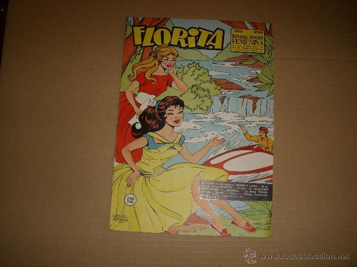 FLORITA Nº 489, EDITORIAL CLIPER (Tebeos y Comics - Cliper - Florita)
