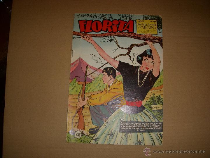 FLORITA Nº 486, EDITORIAL CLIPER (Tebeos y Comics - Cliper - Florita)