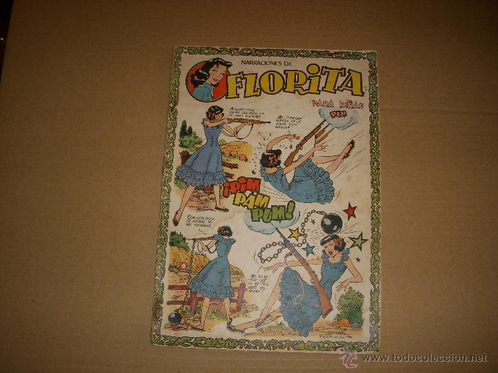 FLORITA Nº 102, EDITORIAL CLIPER (Tebeos y Comics - Cliper - Florita)