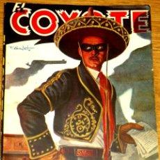 Tebeos - LA MANO DEL COYOTE J. MALLORQUÍ EL COYOTE Nº 3 EDICIONES CLÍPER AÑOS 40 - 45818135