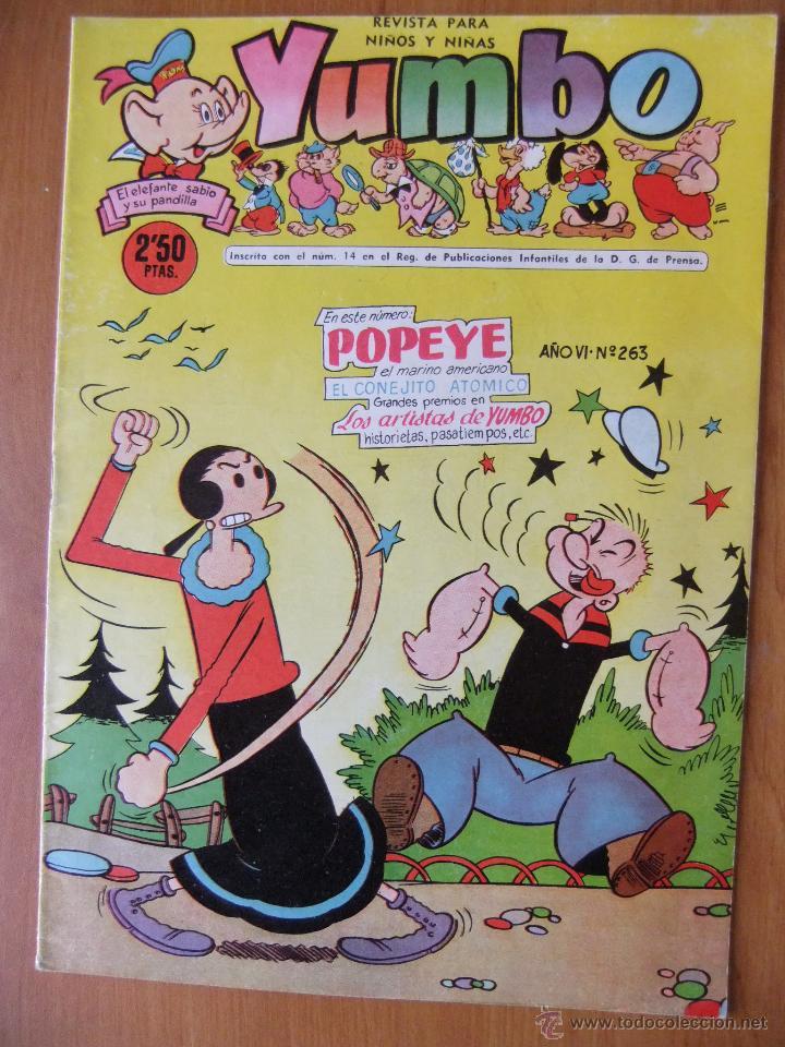 YUMBO Nº 263 EDICIONES CLIPER (Tebeos y Comics - Cliper - Yumbo)