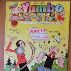 Tebeos: YUMBO Nº 263 EDICIONES CLIPER. Lote 45822690