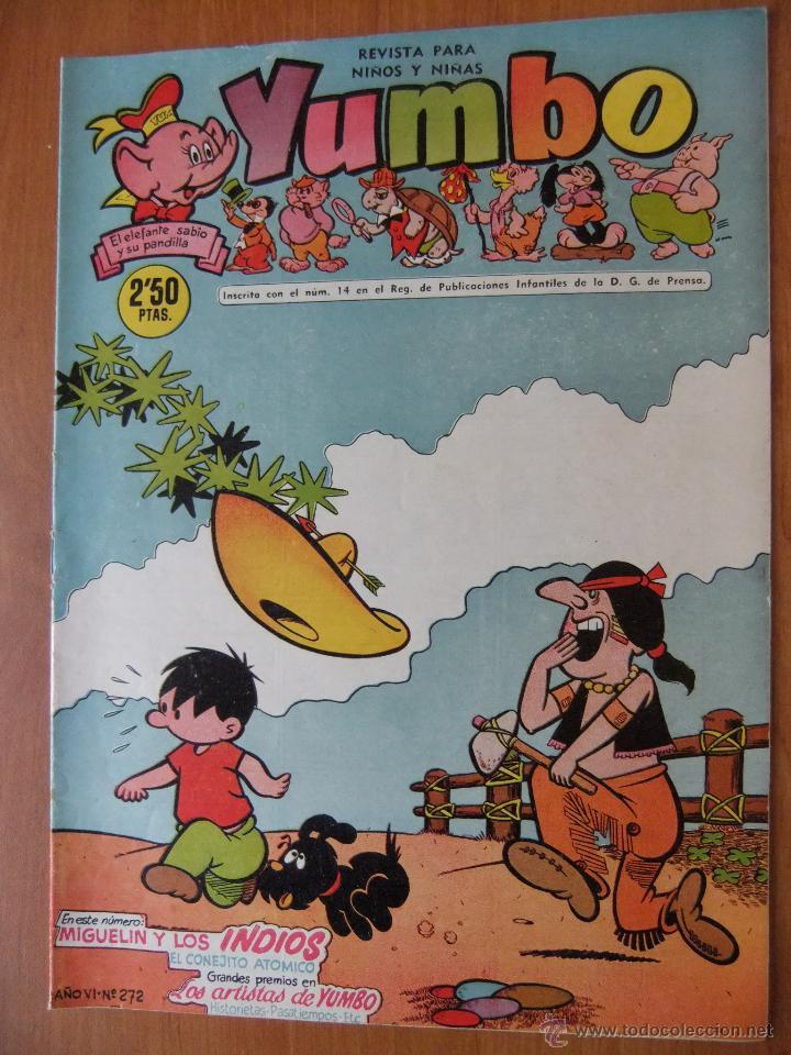 YUMBO Nº 272 EDICIONES CLIPER (Tebeos y Comics - Cliper - Yumbo)