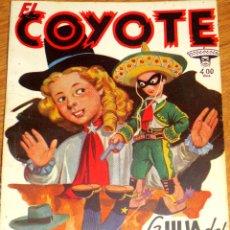 Tebeos: LA HIJA DEL COYOTE J. MALLORQUÍ EL COYOTE Nº 102 EDICIONES CLÍPER AÑO 1950. Lote 45827722