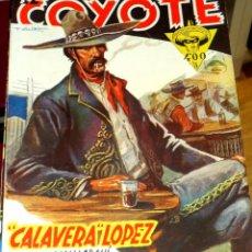 Tebeos: CALAVERA LÓPEZ J. MALLORQUÍ EL COYOTE Nº 57 EDICIONES CLIPER AÑO 1947. Lote 45833802