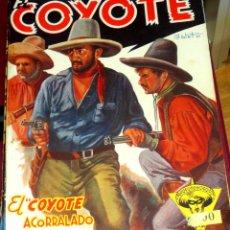 Tebeos - EL COYOTE ACORRALADO J. MALLORQUÍ EL COYOTE Nº 5 EDICIONES CLIPER AÑOS 40 - 45835531