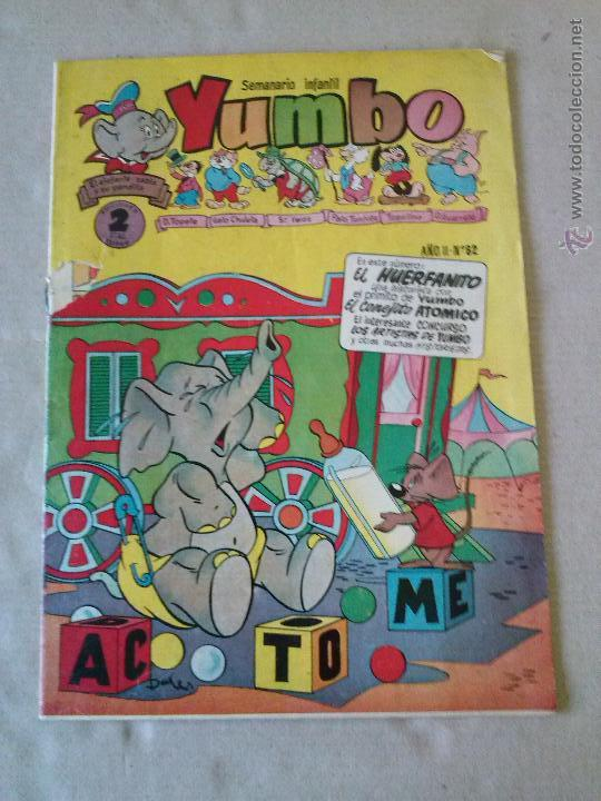 YUMBO Nº 82 Y 144 - CLIPER (Tebeos y Comics - Cliper - Yumbo)