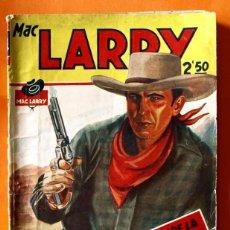 Tebeos: MAC LARRY - Nº 8 - EL CAÑON DE LA MUERTE SUBITA - EDICIONES CLIPER -. Lote 45920240