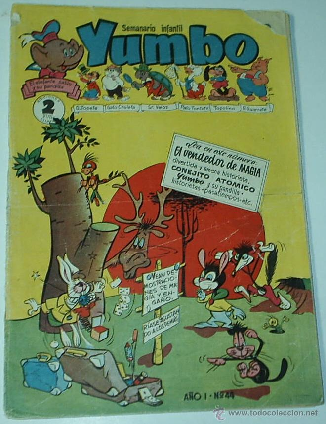 YUMBO Nº 44 -- CLIPER - ORIGINAL- IMPORTANTE LEER DESCR.Y ENVIOS (Tebeos y Comics - Cliper - Yumbo)
