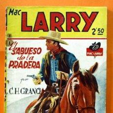 Tebeos: MAC LARRY - Nº 19 - EL SABUESO DE LA PRADERA - EDICIONES CLIPER -. Lote 45933143