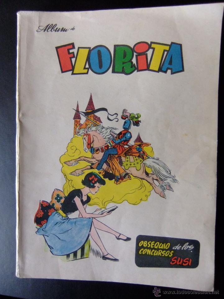 ALBUM FLORITA EDITORIAL GERPLA (Tebeos y Comics - Cliper - Florita)