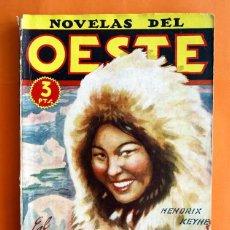 Tebeos: NOVELAS DEL OESTE - Nº 16 - EL PIRATA DE ALASKA - EDICIONES CLIPER -. Lote 46067837